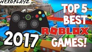Top 5 Miglior Roblox Game 2017!