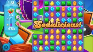 Candy Crush Soda Saga Level 551 No Boosters