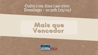 Mais que vencedor - Pr. Adriano Camilo