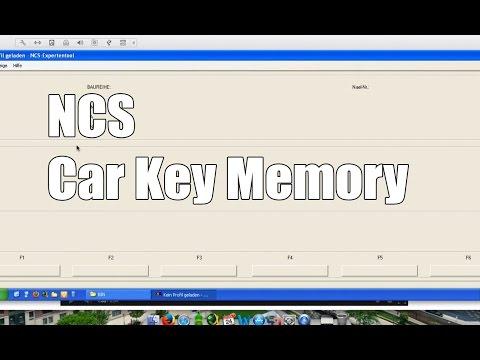 NCS Expert Car Key Memory BMW Coding English