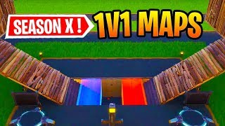 Best Season X 1v1 Maps In Fortnite Creative With Codes!