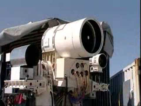 US NAVY:  Laser Weapon System LaWS