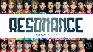 NCT 2020 - 'RESONANCE' Lyrics [Color Coded_Han_Rom_Eng]