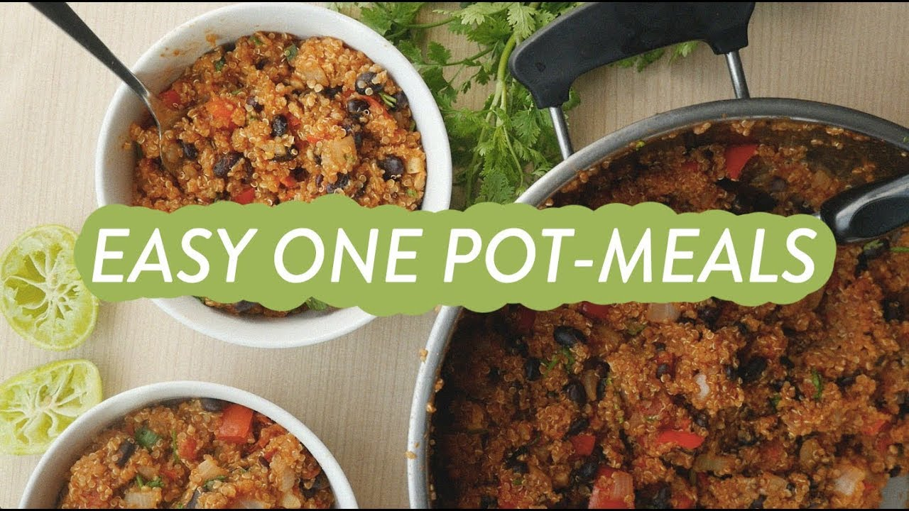 Quick easy healthy eating meals for one pot