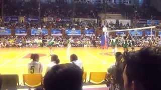141028 unigames volleyball finals w dlsu nu set 4 2