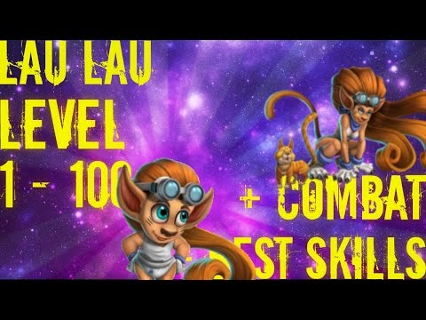 Monster Legends | Lau Lau | Level 1 to 100