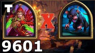 Hearthstone: Kobolds & Catacombs Rogue vs Giant Rat [01] (9601)