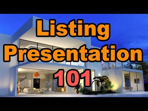 Real Estate Agent Live Call: Step by Step Listing Presentation 101