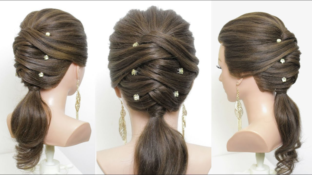 Party latest hairstyles for girls