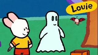 Dibujos animados para niños - Louie dibújame un fantasma HD