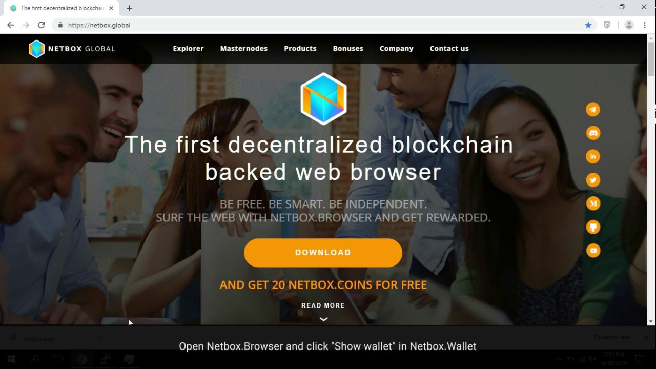 Netbox Airdrop (NBX) - Get Crypto Airdrop Tokens - AirdropBroadcast com