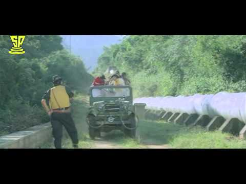 Venkatesh Divya Bharathi Funny Scene In Forest | Bobbili Raja Telugu Movie | Suresh Productions