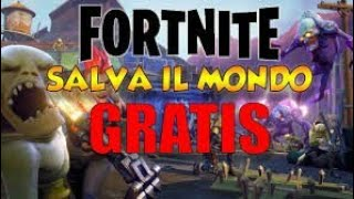"¿COMO TENER ""GUARDAR EL MUNDO"" DE FORTNITE GRATIS!!!!! (SIN CLICKBAIT/NO APP) XBOX ONE/PS4 - TUTORIAL"