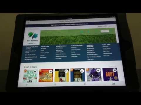 Downloading Library Ebooks Using The Overdrive App
