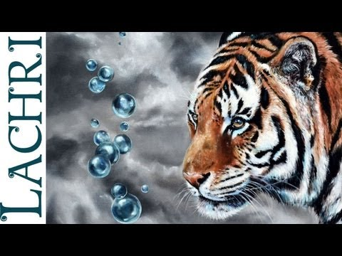 speed-painting---how-to-oil-paint-a-tiger---photorealistic-time-lapse-tutorial-by-lachri