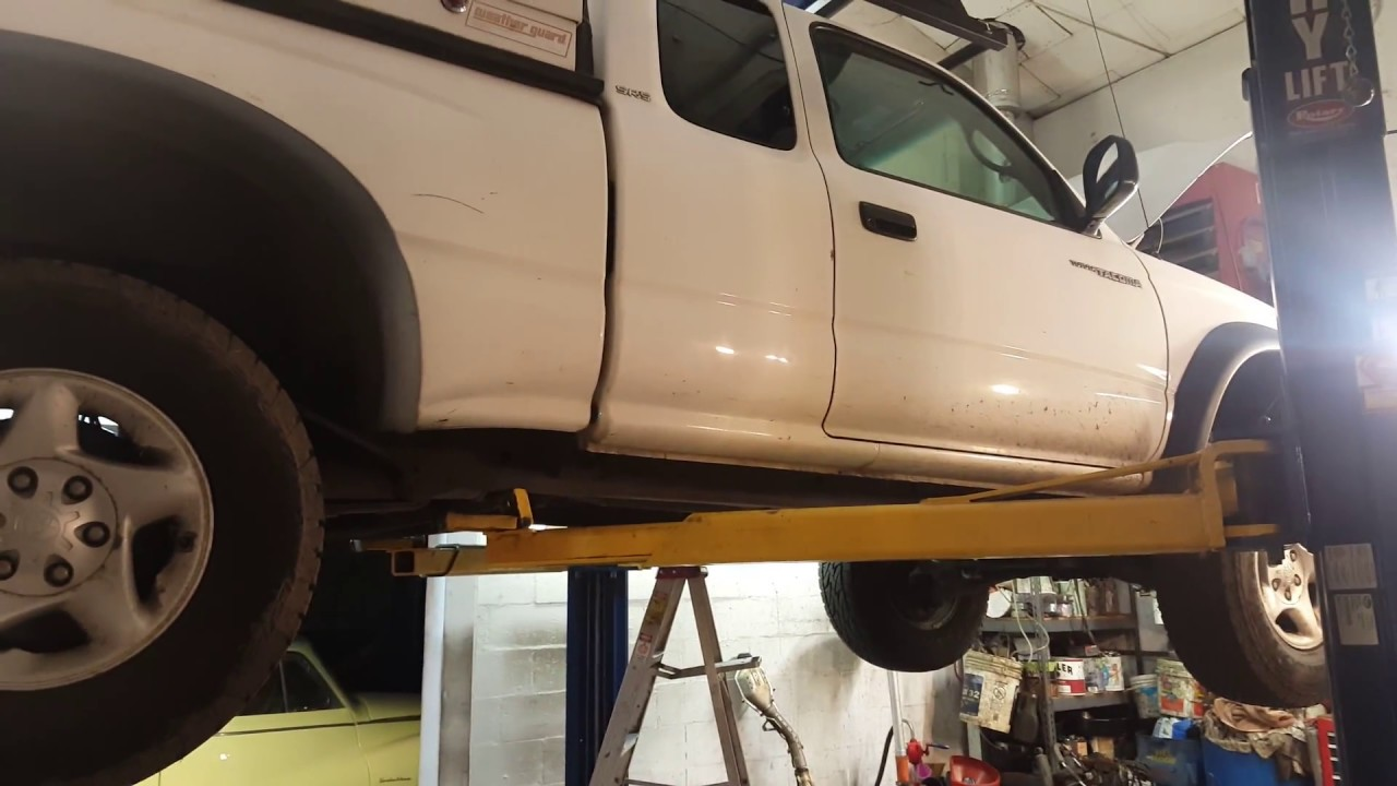 toyota tacoma 4wd fix testing the aad and transfer case actuators  [ 1280 x 720 Pixel ]
