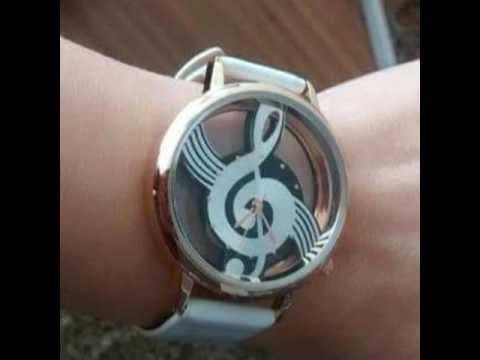 Amazing Treble Clef Watch for musician and music lovers