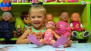 ✔ Беби Борн. Распаковка новой Куклы от Ярославы / Видео для детей / New Doll Baby Born Bath Time ✔