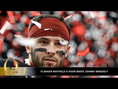 Is Baker Mayfield a poor man's Johnny Manziel?