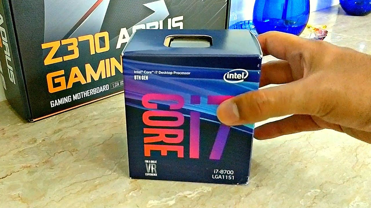 Intel Core i7 8700 - 8th gen Unboxing! | Coffee Lake