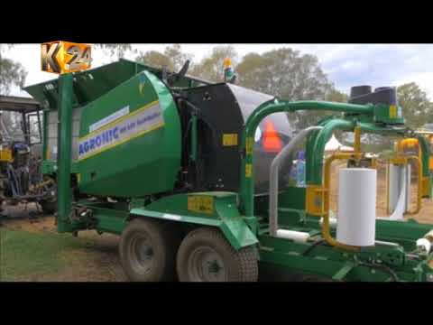 Introduction ofsilage balling equipment to boost dairy farming