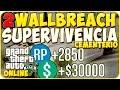 Gta 5 Online - Dos Wallbreach en Supervivencia Cementerio - Gta 5 Online Glitch