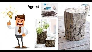 Baixar fantastiche idee con tronchi e rami d' albero - FAI DA TE CREATIVO - LIFE HACKS
