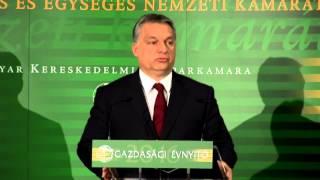 MKIK Gazdasági évnyitó 2016 /ORBÁN VIKTOR miniszterelnök/