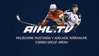Adelaide Adrenaline @ Melbourne Mustangs (22/4/18)