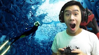 KEHIDUPAN BAWAH LAUT MANTEP DAH ! - ABZU Indonesia Gameplay #1