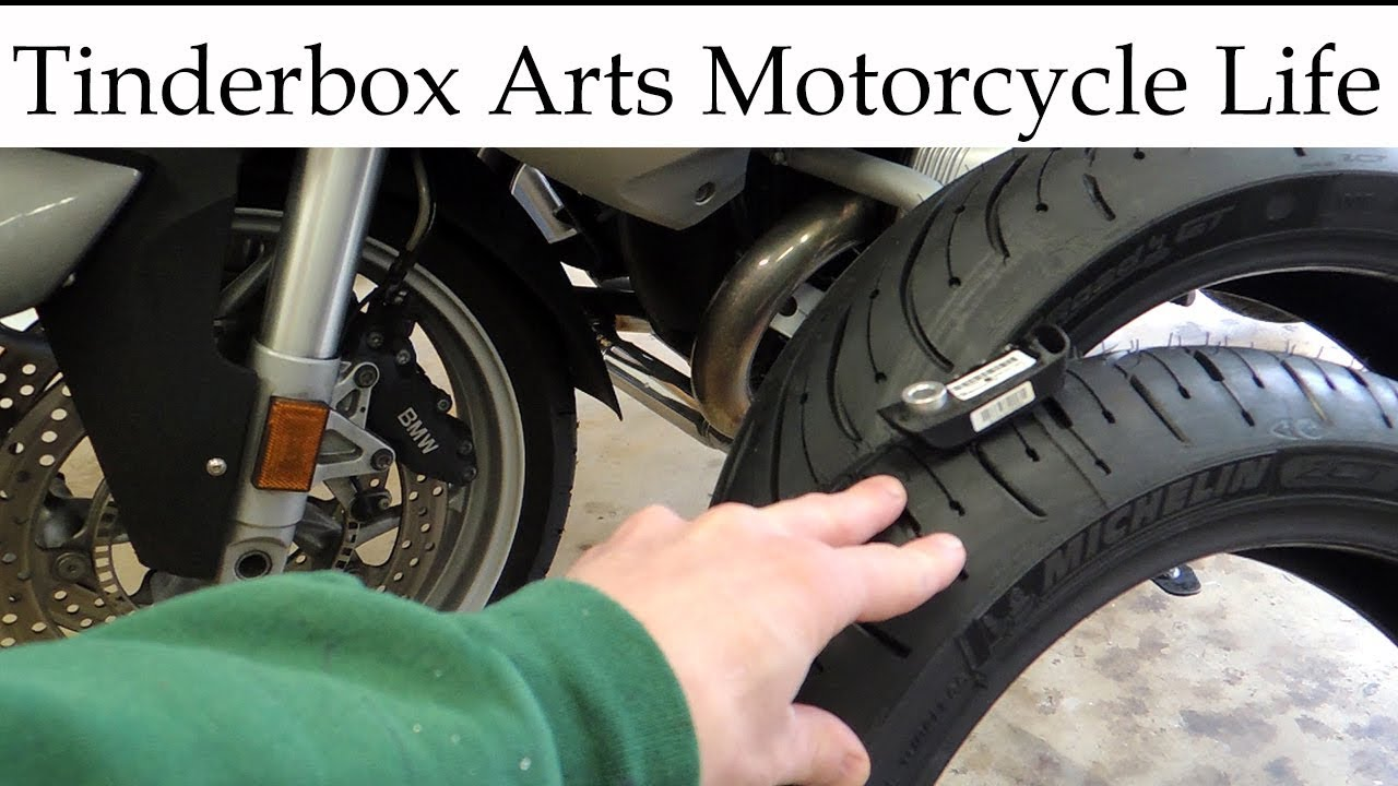 Bmw R1200rt Tires And New Tpms Install