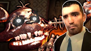 FNAF SURVIVAL IN A SCARY MANSION!  Garry's Mod Gameplay