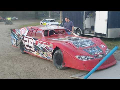 🔴Jeff Crouse Racing Live🔴 KRA Speedway Heat.  9/7/17