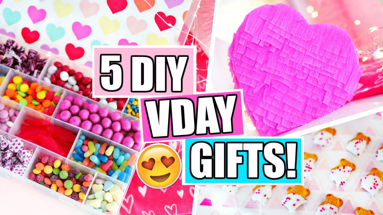 5 Diy Valentine S Day Gift Ideas You Ll Actually Want 2017 Youtube