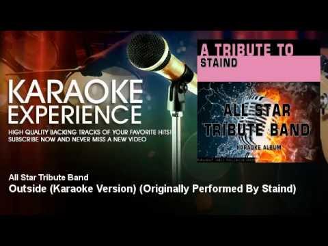 Staind   Outside Karaoke Version)