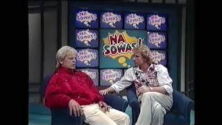LIVE 1985 Klaus Kinski auf Drogen bei Na Sowas! LEGENDÄR