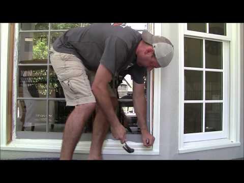 DIY Bay Window Replacement PVC Double Pane Low-E