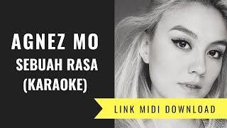 Agnez Mo - Sebuah Rasa (Karaoke/Midi Download)