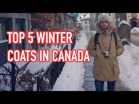 Top 5 Winter Coats In Canada