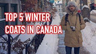 Top 5 Winter Coats in Canada