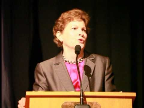 U.S. Senator Jeanne Shaheen of New Hampshire Speaks at the NH Democratic Convention