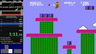Super Mario Bros. Minus World Ending : 2:38.XX