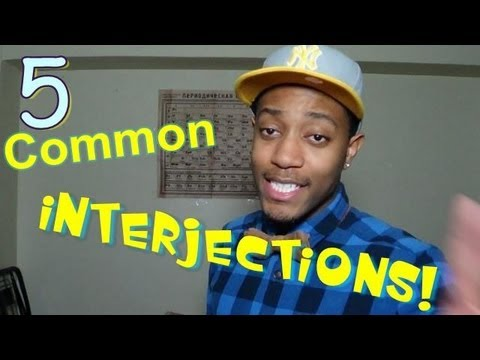 American English Interjections