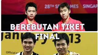 Download Video 2 Ganda Indonesia Bertemu Kevin Sanjaya/Marcus Gideon Vs Mohamad Ahsan/Hendra Setiawan MP3 3GP MP4