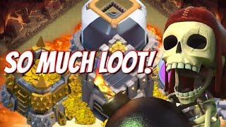 Clash of Clans | Finding All The Loot! | Farming In Gold League! Another Road To Another TH #8