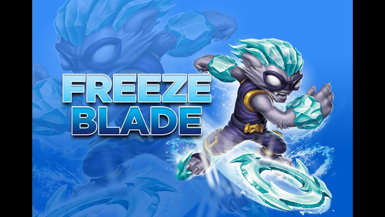 skylanders coloring pages freeze blade - photo#29