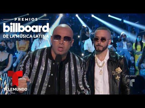'Aullando' de Wisin & Yandel gana Canción Tropical del Año | Premios Billboard 2020