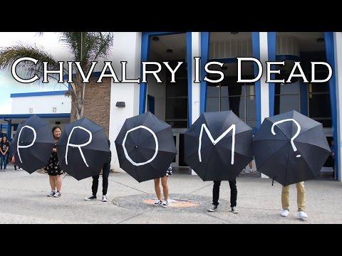 UMBRELLA PROMPOSAL DANCE - Chivalry Is Dead