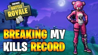 My BEST SOLO EVER! Fortnite Battle Royale Gameplay