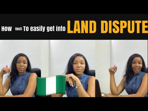 HOW (not) TO EASILY GET INTO LAND DISPUTE| AN ATTORNEY'S VIEW| LANDS IN THE EASTERN PART OF NIGERIA